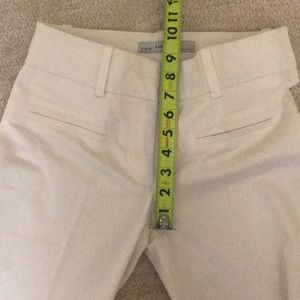 Zara Pants - Zara Basics white dress Pants 34 02